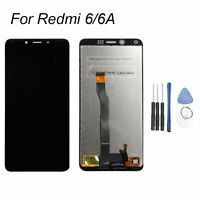 Für XIAOMI REDMI 6 / 6A LCD Display Touch Screen Digitizer Assembly Schwarz