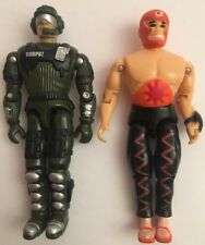 "2 Vintage 1992 & 1998 The Corps Lanard Military 3.75"" Action Figure Lot"