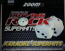 Zoom Rock Karaoke CDGs & DVDs
