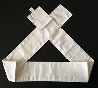 Japanese Hachimaki Headband Martial Arts Sports White Shiro Kohaku Made in Japan