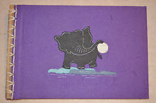 New Unique Scrapbook Album Handmade from Elephant Dung Paper 10 X 15 / 12pcs #F