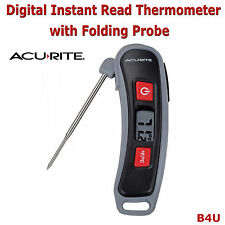 Acurite Digital Thermometer Cooking BBQ Meat with Stainless Steel Probe New