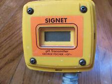 SIGNET GF 3 -8700.103-12 pH TRANSMITTER (104)