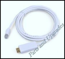 NEW 10 FT Mini DisplayPort DP Thunderbolt to HDMI Cable Adapter Audio Video Mac