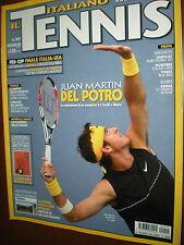Il Tennis Italiano.JUAN MARTIN DEL PORTO,FRANCESCA SCHIAVONE,JACK KRAMER,iii