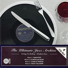 THE ULTIMATE JAZZ ARCHIVE 23 : D. BYAS, I. JACQUET, PARKER, GILLESPIE / 4 CD-SET