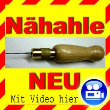 Nähahle -Sattler Schuster Leder Ahle Garn Nähnadel Pieker Pfriem Stoff Nähpfriem