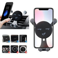 360° Rotating Gravity Mobile Phone Car Mount Air Vent Stand Holder Phone Support
