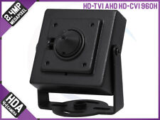 HD 4-In-1 2.4MP AHD TVI Mini Hidden Home Surveillance OSD CCTV Security Camera