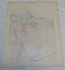 1903 Topographic Map NORTHPORT QUADRANGLE/NASSAU/SUFFOLK COUNTIES, NEW YORK