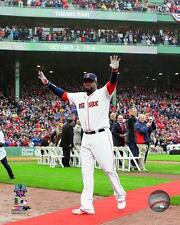 "DAVID ORTIZ ""Retirement Ceremony @ Fenway"" Oct 2, 2016 Boston Red Sox 8x10 photo"