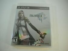 Final Fantasy XIII (Sony PlayStation 3, 2010) FF 13 PS3 New Unopened
