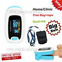 Pulsossimetro Monitor per ossigeno nel sangue Frequenza cardiaca SpO2 PR