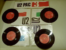 U2 PAC 3 SINGLES IN DISPLAY WALLET MINT -NUOVO- WALLET PERFECT COND