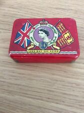A Small Tin Celebrating The Coronation Of Her Majesty Queen Elizabeth II