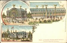 1897 Exposition? Bruxelles Belgium Multi-View Musee Scolaire Existant PC