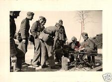 10186/ Originalfoto 7x10cm, Soldaten bei SMG-Ausbildung