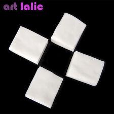 400 X Lint Free Nail Art Wipes Acrylic Gel Tips Remover Makeup Polish Cotton
