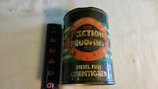 Vintage Distressed & Rusted Wynn's Friction Proofing Full Metal Can Unopened