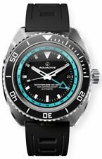 Aquadive Bathysphere 100 GMT Turquoise Men's Watch
