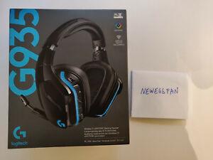 Logitech G935 Headband Gaming Headset - Black/Blue - NEW IN BOX