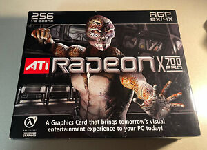 Ati radeon x700 pro brand new Factory Sealed Unopened In Box