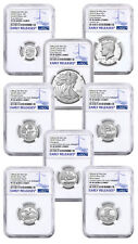 8-Coin 2018-S Limited Edition Silver Proof Set NGC PF69 UC ER PRESALE SKU55466