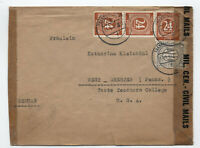 1946 Germany AMG and numeral mixed franking twice censored cover [S.27]