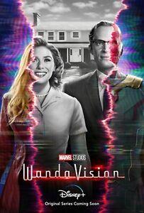 Wanda Vision poster  : 11 x 17 inches : Paul Bettany, Elizabeth Olssen