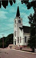 Vintage Postcard - Catholic Church Building Mackinac Island Michigan MI #6848