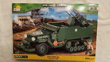 Cobi 2499 Us Half Track M16 501 Pc Building Brick Set Historical Collection