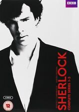 SHERLOCK - Complete BBC Series 1-3 Collection Box Set (NEW DVD R4)