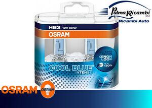 LAMPADINE AUTO OSRAM HB3 12V 60W COOL BLUE INTENSE COD9005CBI