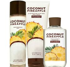Bath & Body Works Coconut Pineapple Trilogy Set
