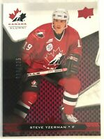 2018 Steve Yzerman Upper Deck Team Canada Juniors Exclusives #97 #/225 Detroit