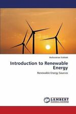 Introduction to Renewable Energy, Muthuraman 9783659753510 Fast Free Shipping,,