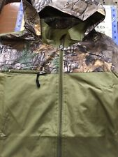 REAL TREE Men's Lightweight Wind Proof Hooded Polyester Jacket rj2010 SZ LARGE