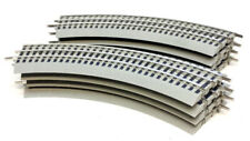 Lionel 6-37103 FasTrack O-31 Full Circle (8) Curved Track Sections, O Gauge