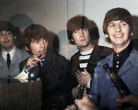 8x10 Print Beatles John Lennon Sahara Hotel Las Vegas Nevada 1964 Unseen #BESH