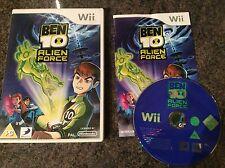Ben 10 Alien Force Wii Game! Complete! Look In The Shop!