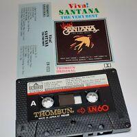VIVA! SANTANA THE VERY BEST THOMSUN IMPORT CASSETTE TAPE ALBUM 70S POP ROCK