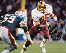 Don Donnie Warren Autographed 8x10 Washington Redskins Hogs & Super Bowl (horiz)