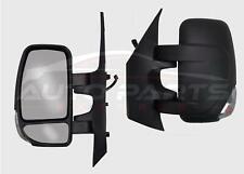 Renault Master Short Arm Wing Mirror Manual Complete Left N/S 2010 Onwards