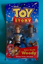 1998 Disney TOY STORY Space Sheriff WOODY Astronaut Mattel Action Figure toy MOC