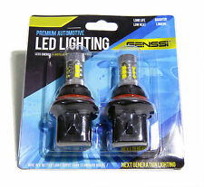 GENSSI 9004 100W LED Headlight Bulbs using CREE Chips Low Beam Only (Pack of 2)