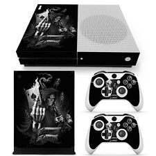 XBOX ONE S Skin Design Foils Aufkleber Schutzfolie Set - Game Over Motiv