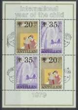 Ned. Antillen postfris 1979 MNH 640 blok - Kinderzegels (XB2014)
