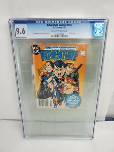 Adventure Comics #501 CGC 9.6 NM+ DC Comics 1983 Hitler Cover