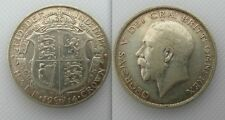 Collectable 1914 Silver Half-Crown Coin Of King George V
