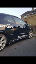 STUKE HONDA CIVIC FN2 TYPE R SIDE SKIRTS WITH WINGLETS